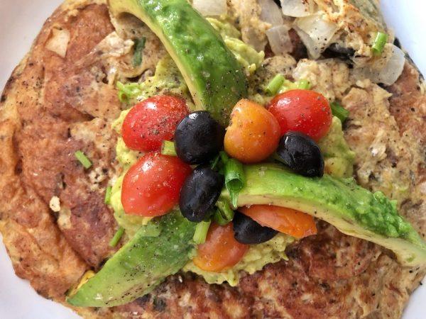 Sardines Avocado Omelette – Keto Pescatarian Breakfast