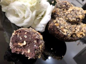 Kids Homemade Ferrero Roche - Healthy Keto Fat Bombs Low Carb No Sugar Added