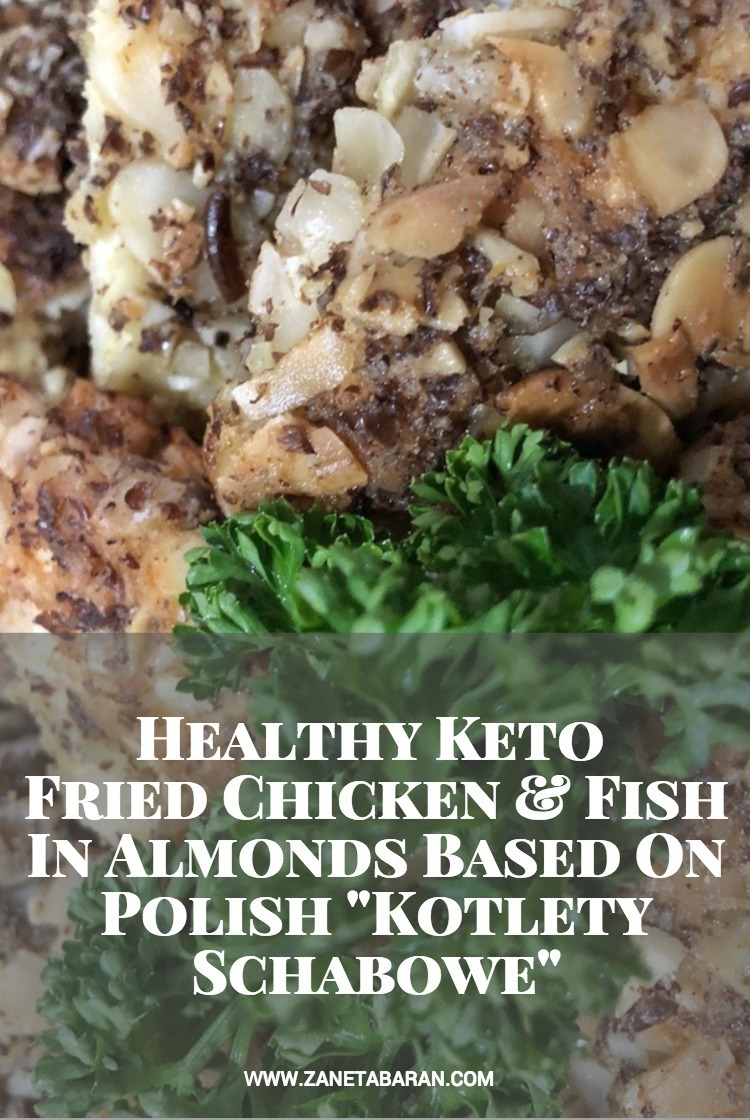 Pinterest Healthy Keto Fried Chicken And Fish In Almonds Based On Polish Kotlety Schabowe