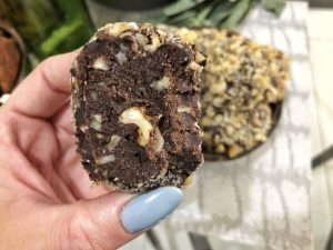 Truffles Homemade Ferrero Roche - Healthy Keto Fat Bombs Low Carb No Sugar Added