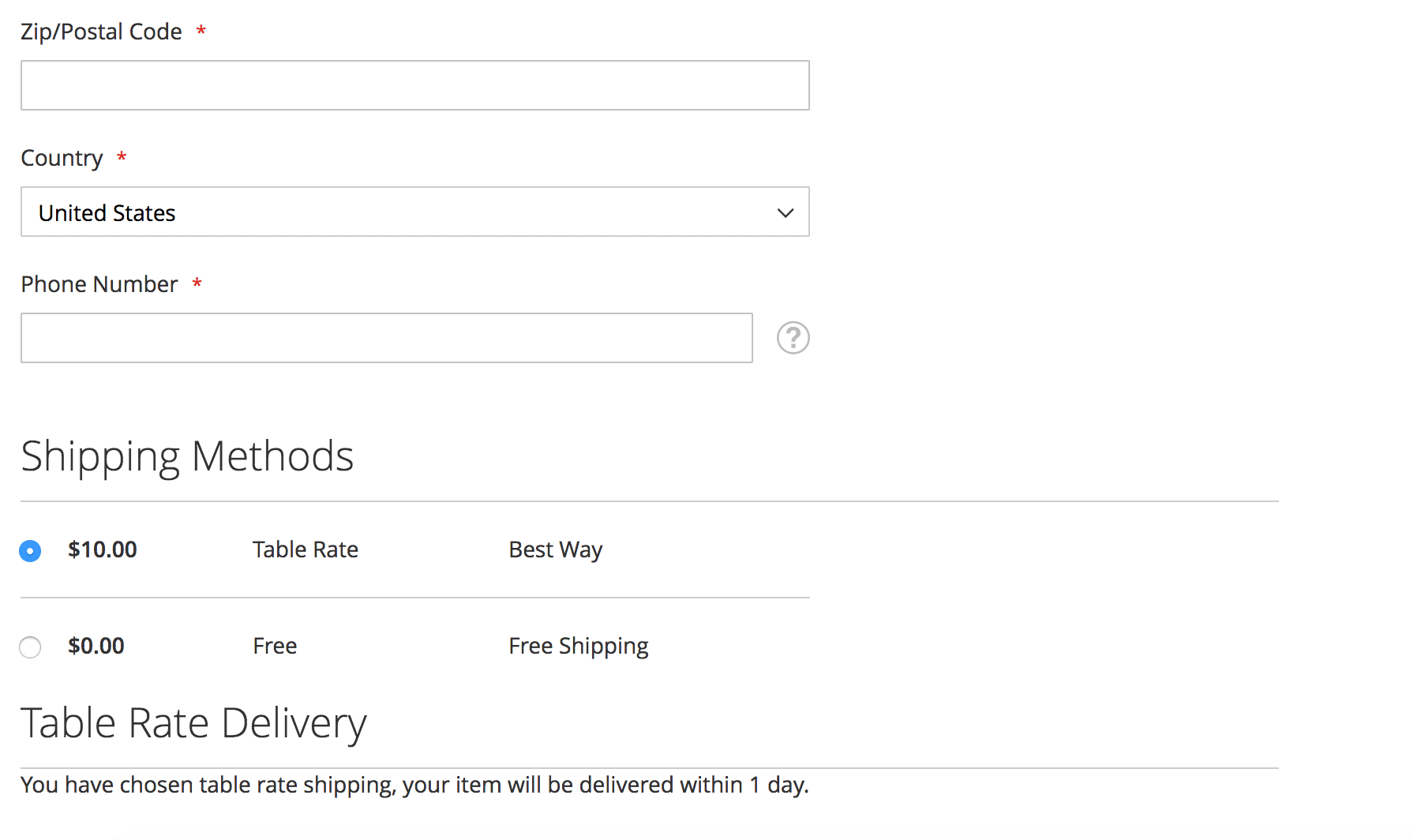 How To In Magento 2 – How To Display Additional Text Based On Selected Shipping Methods In The Checkout Paid Delivery