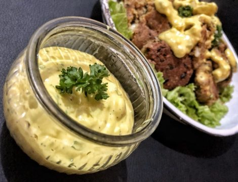 Easy Creamy Mustard BBQ Sauce For Fish Beef Or Chicken – Healthy Keto Sugar Free Low Carb