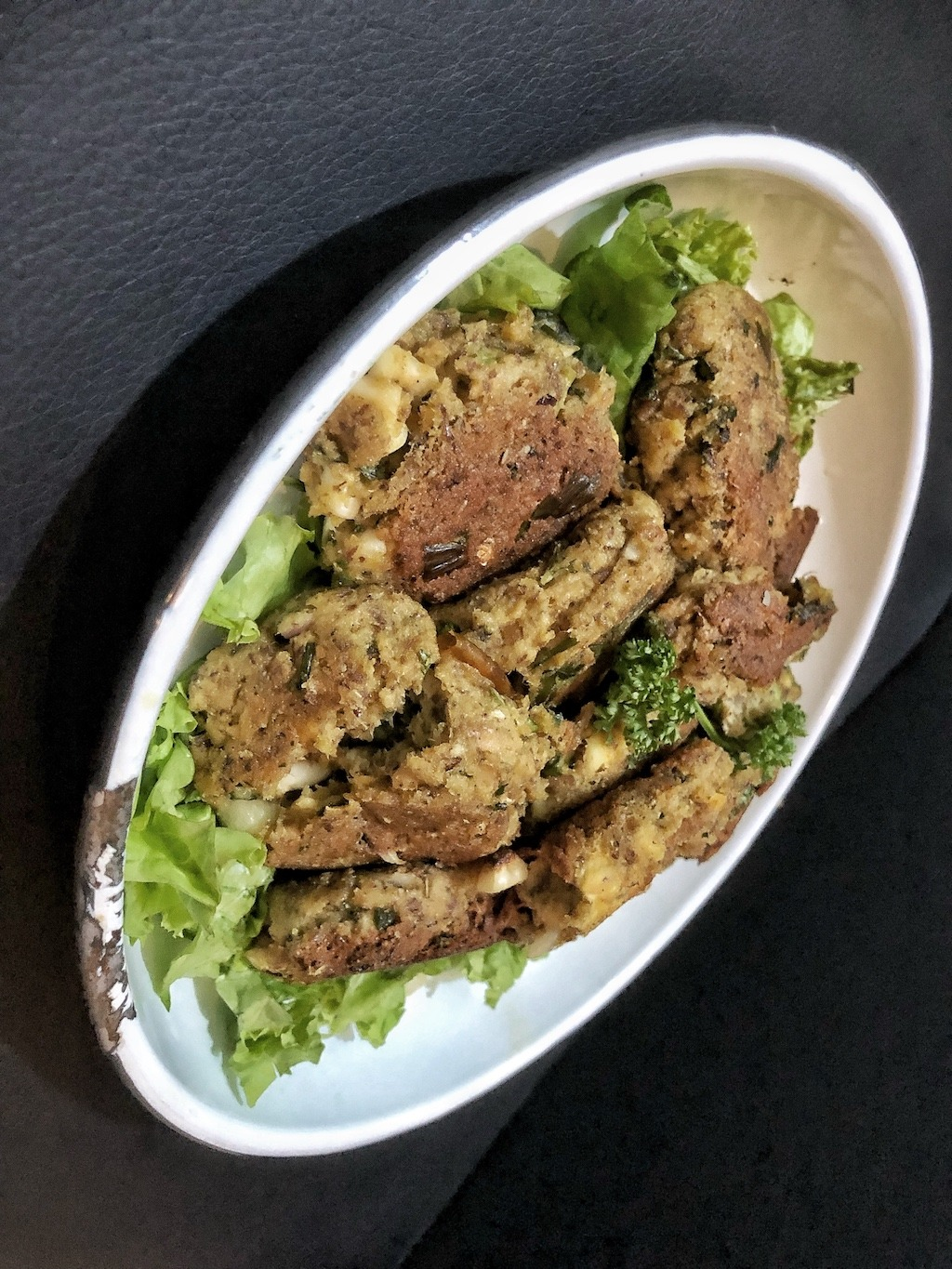 Canned Sardines Fish Cake - Healthy Keto Low Carb