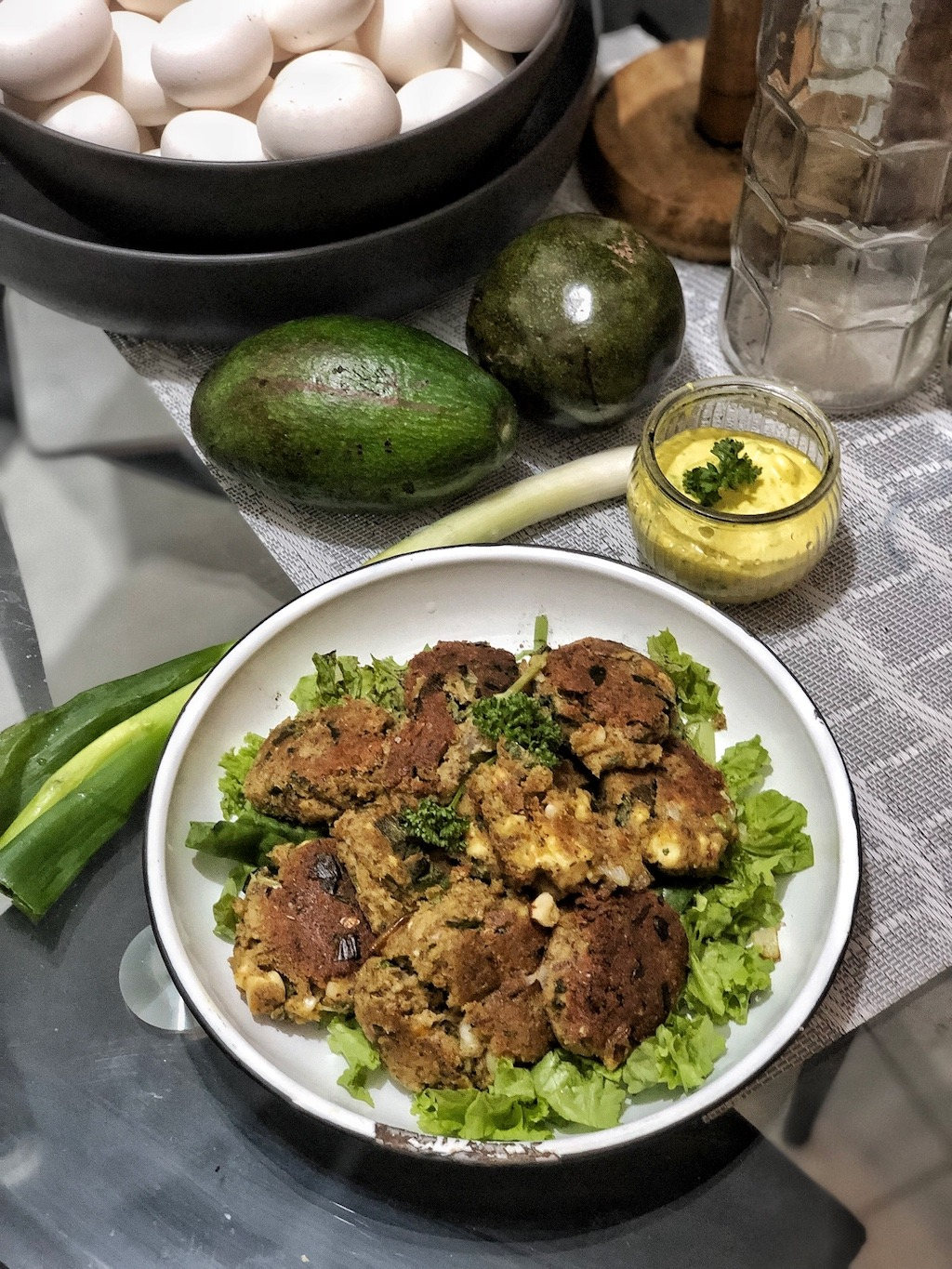 Canned Tuna Sardines Fish Cake - Healthy Keto Low Carb