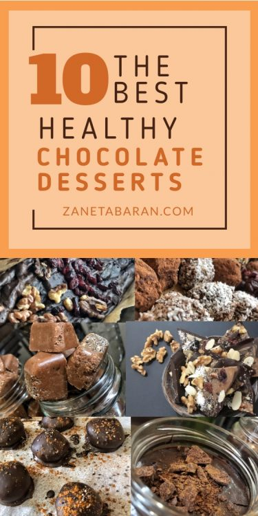 10 Healthy Chocolate Desserts