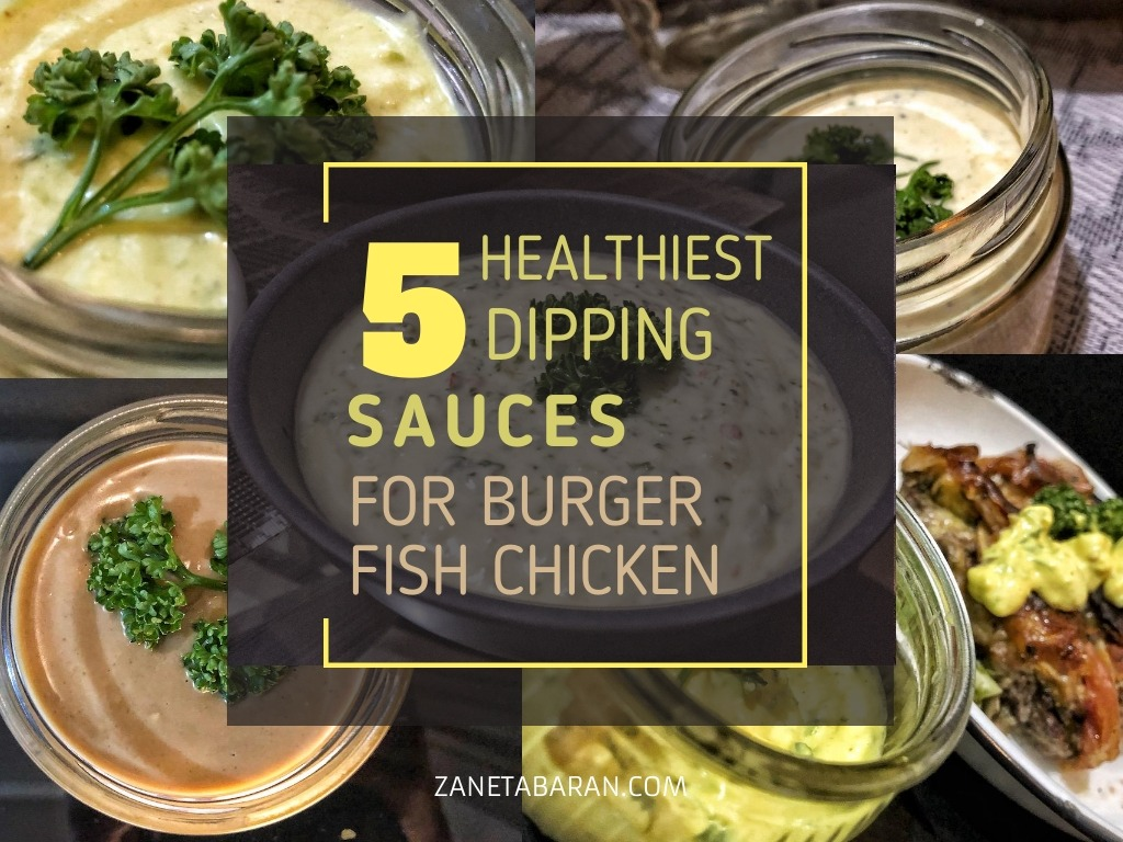 5 Healthiest Dipping Sauces