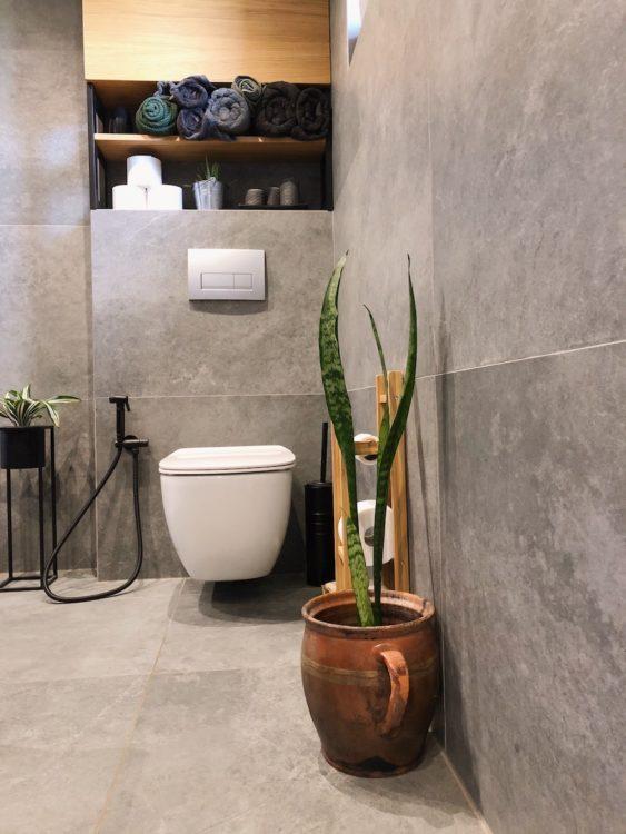 After Bathroom Makeover Interior Design