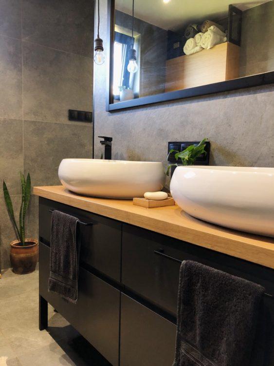 Bathroom Makeover Interior Design Industrial