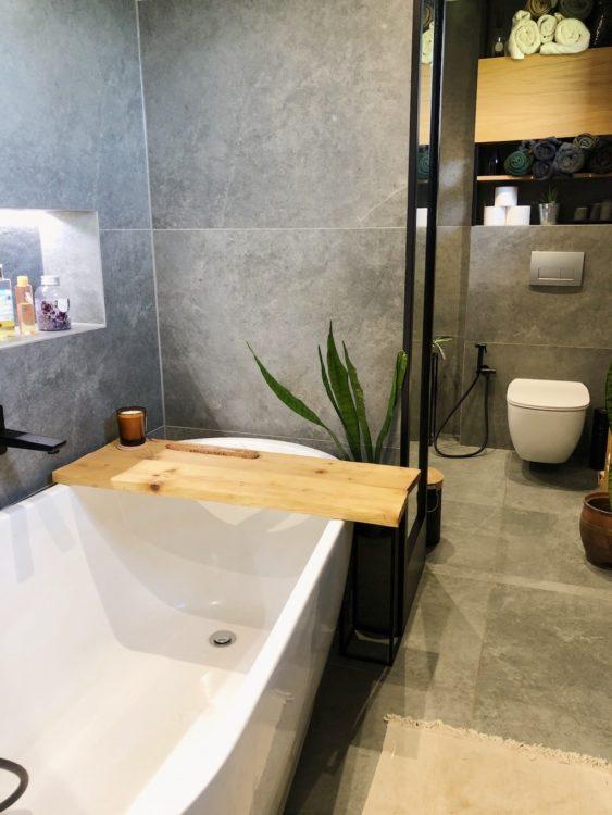 Bathroom Makeover Interior Design SPA bath