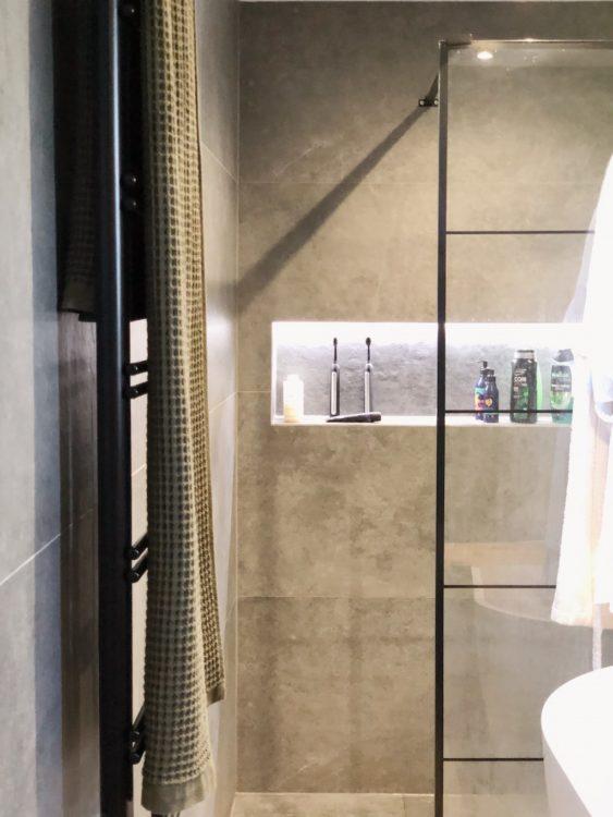 Bathroom Makeover Interior Design Shower Glass