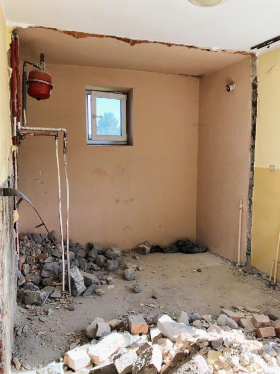 Bathroom Renovation Destroying