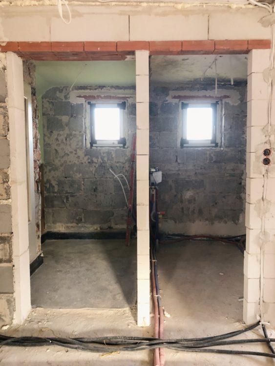 Bathroom Renovation Door