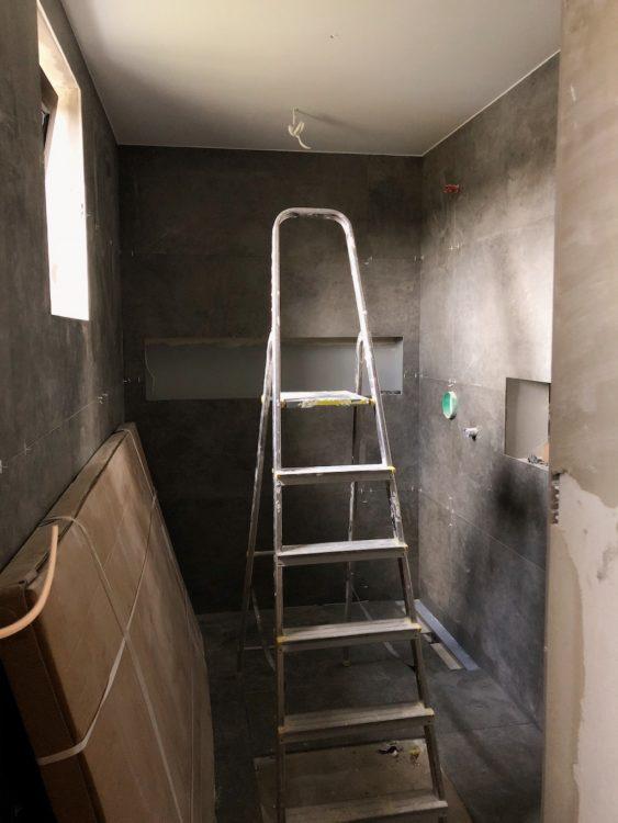 Bathroom Renovation Makeover Progress