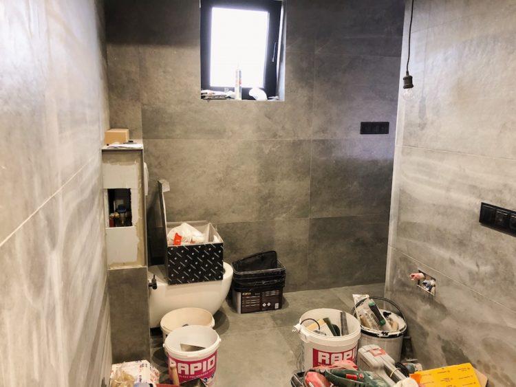 Bathroom Renovation Mess