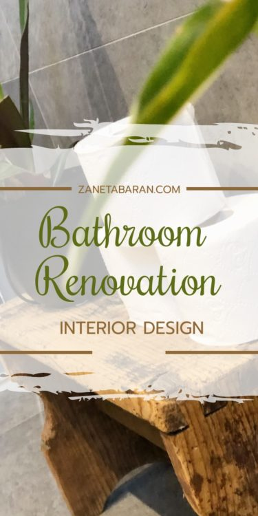 Bathroom Renovation Pin
