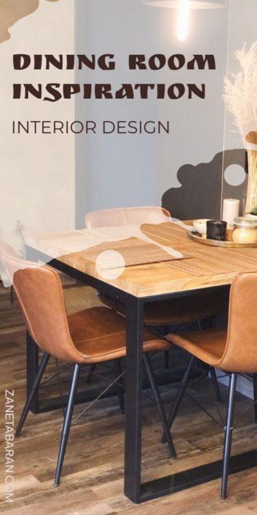 Dining Room Inspiration - Interior Design Pin
