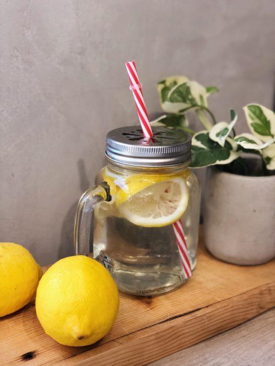 Human Performance Lemon Water Morning Routine