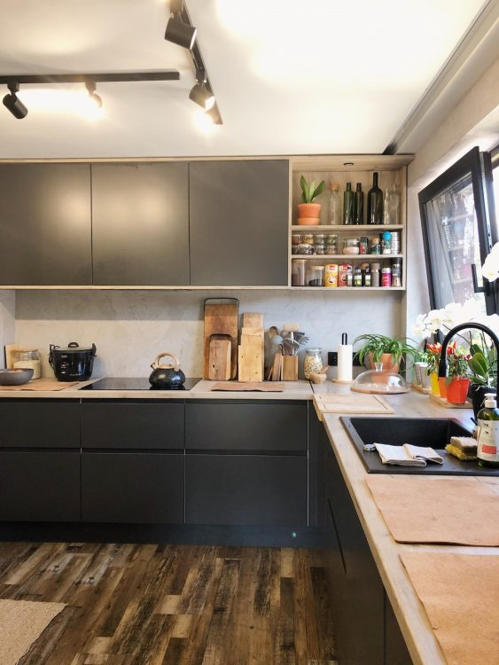 Kitchen Layout Loft Makeover