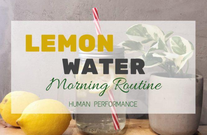 Lemon Water Human Performance