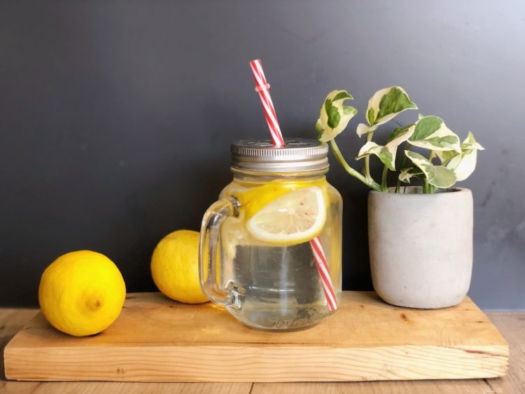 Lemon Water Human Performance Morning