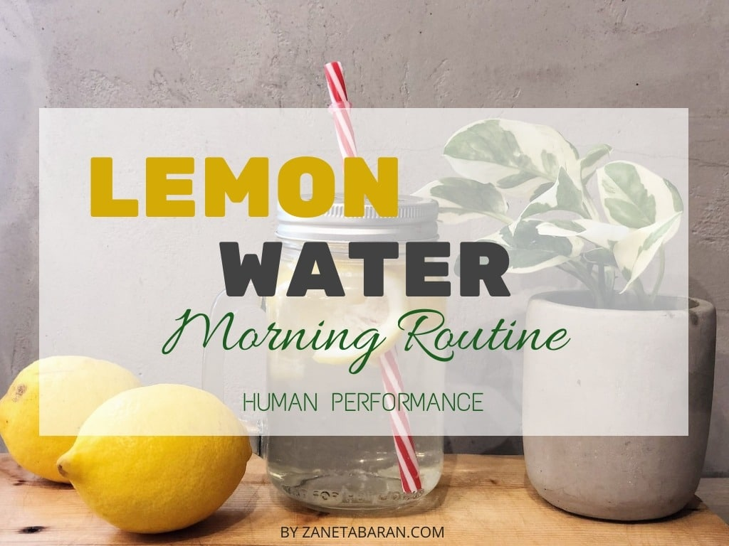 Lemon Water Human Performance