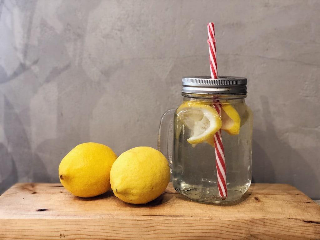 Lemon Water Morning Routine