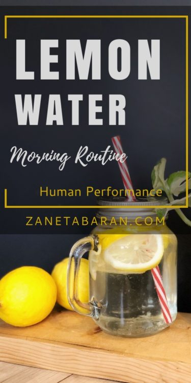 Lemon Water Pin