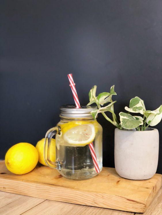 Lemon Water Routine