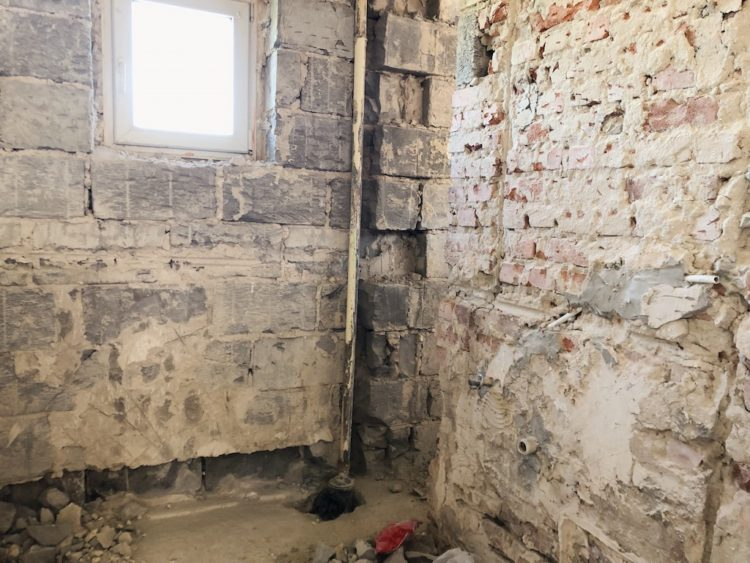 Old Bathroom Renovation