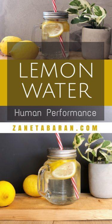 Pin Lemon Water