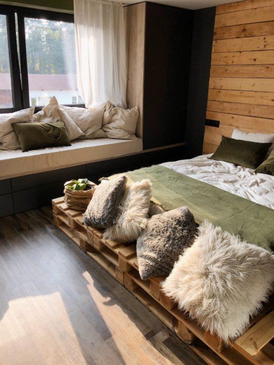 Bedroom Decor - Interior Design Bed Pallets
