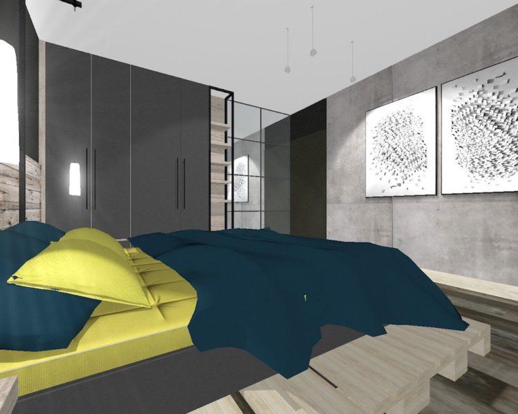 Bedroom Plan Interior Design