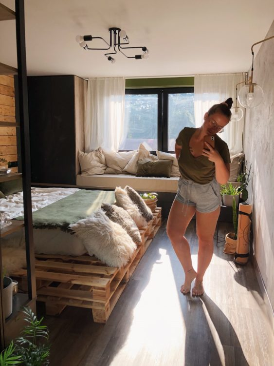 Mirror In Bedroom