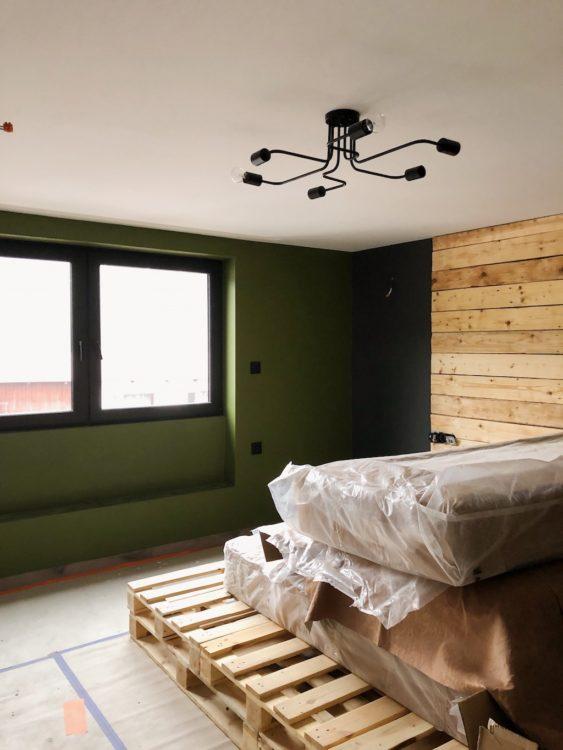 Pallets Bed Bedroom Decor - Interior Design