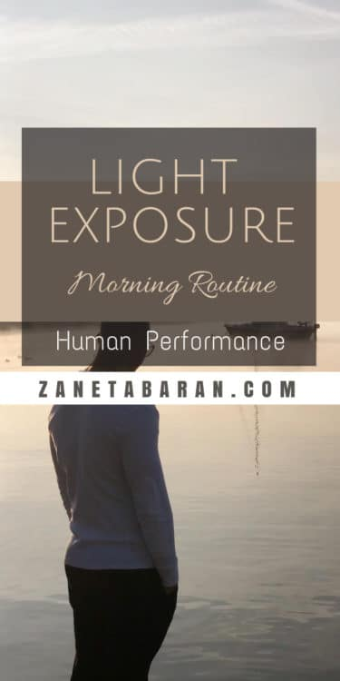 Pin Morning Light Exposure - Morning Routine - Human Performance
