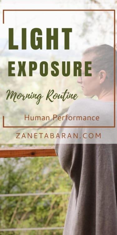 Pinterest Morning Light Exposure - Morning Routine - Human Performance