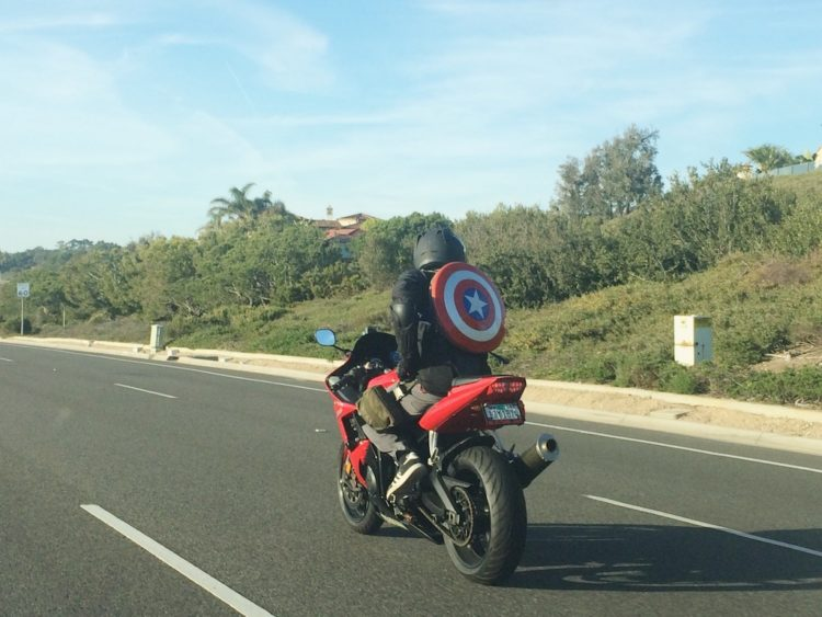 Motorbike Dana Point