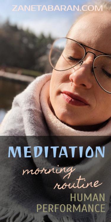 Pin Meditation - Morning Routine - Human Performance