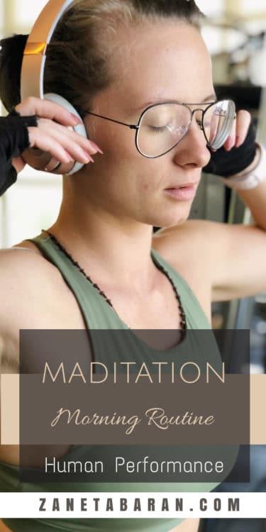 Pinterest Meditation - Morning Routine - Human Performance