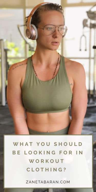 What you should be looking for in workout clothing? Pin