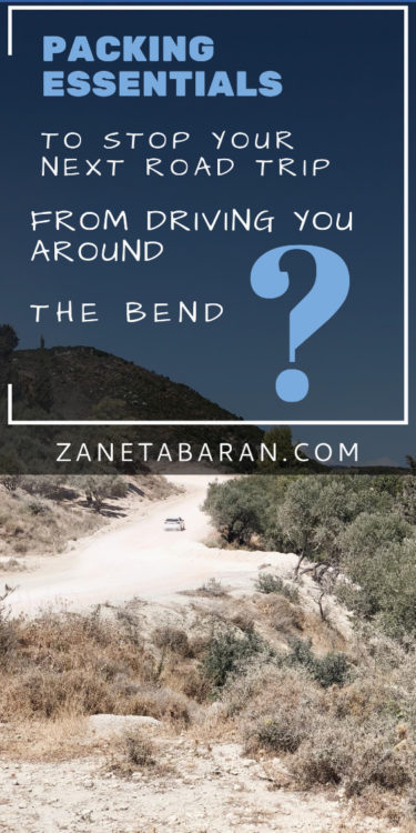 Packing Essentials To Stop Your Next Road Trip From Driving You Around The Bend Pin