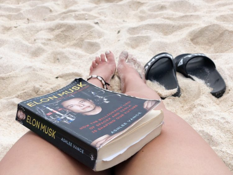 Beach Book Reading - Morning Routine - Human Performance