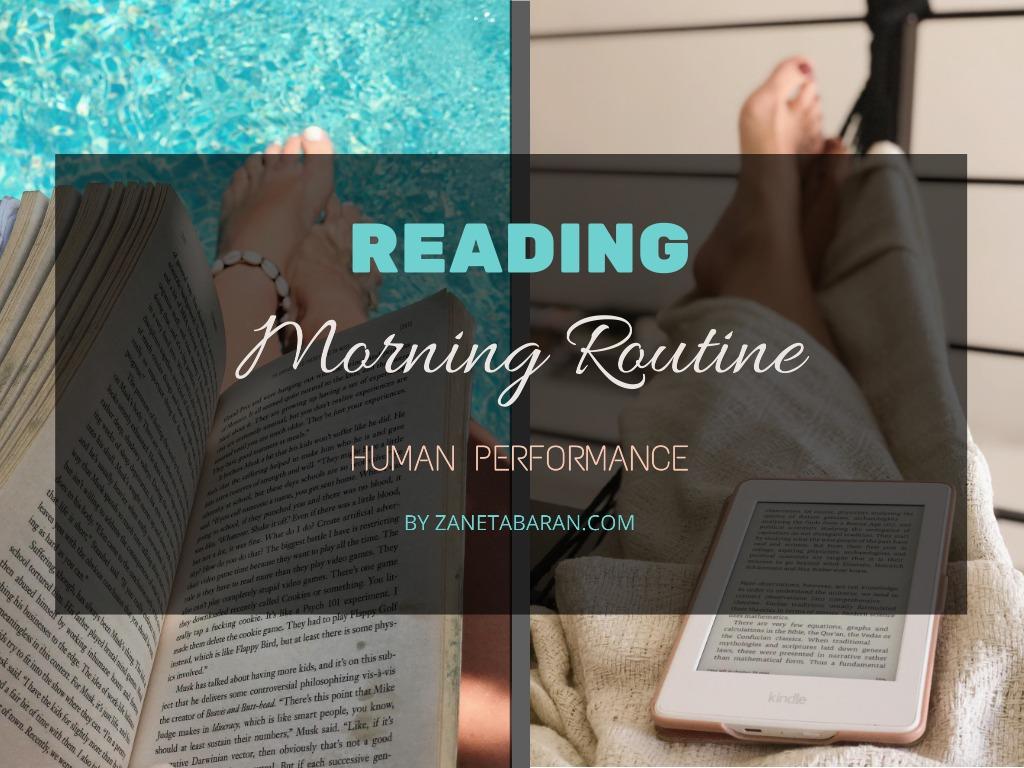 Reading - Morning Routine - Human Performance