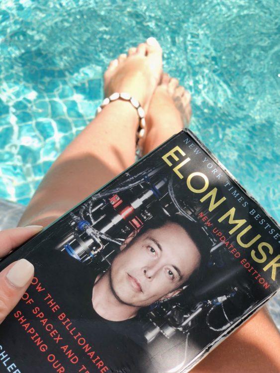 Swimming pool book Reading - Morning Routine - Human Performance